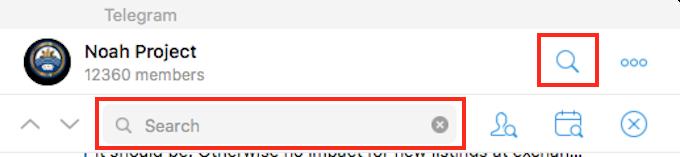 Telegram(テレグラム)PCコメント検索